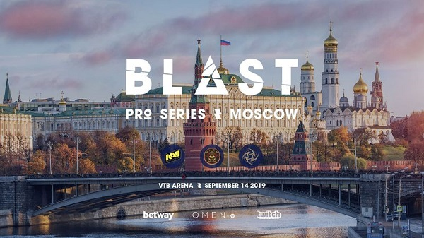 BLAST Pro Series Moscow 2019