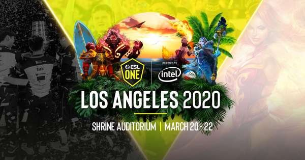 ESL One Los Angeles 2020 - Online Championship. Европа и СНГ