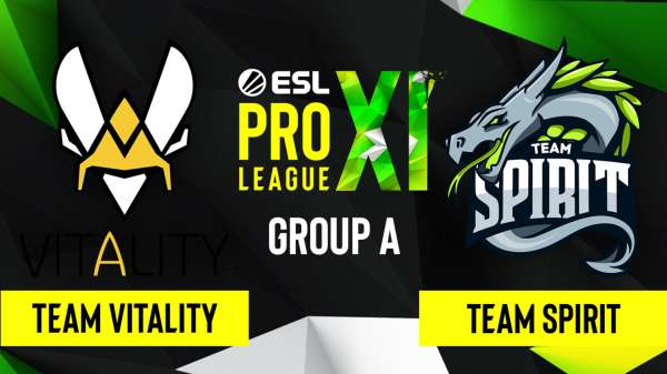Spirit обыграла Vitality на ESL Pro League Season 12