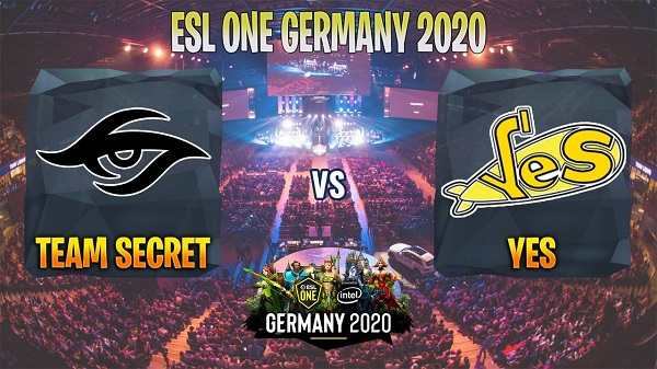 Secret разгромила Yellow Submarine на ESL One Germany