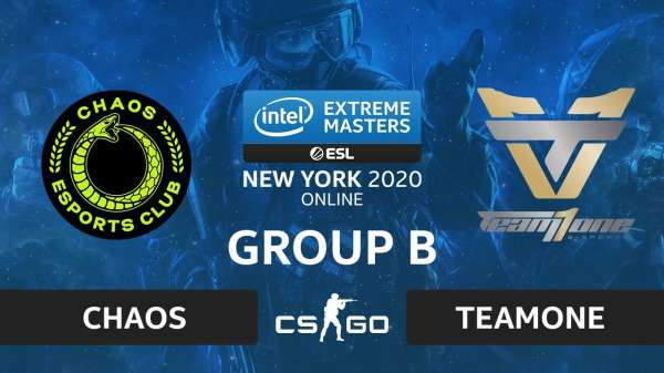 Бразильская TeamOne выбила Chaos с IEM New York